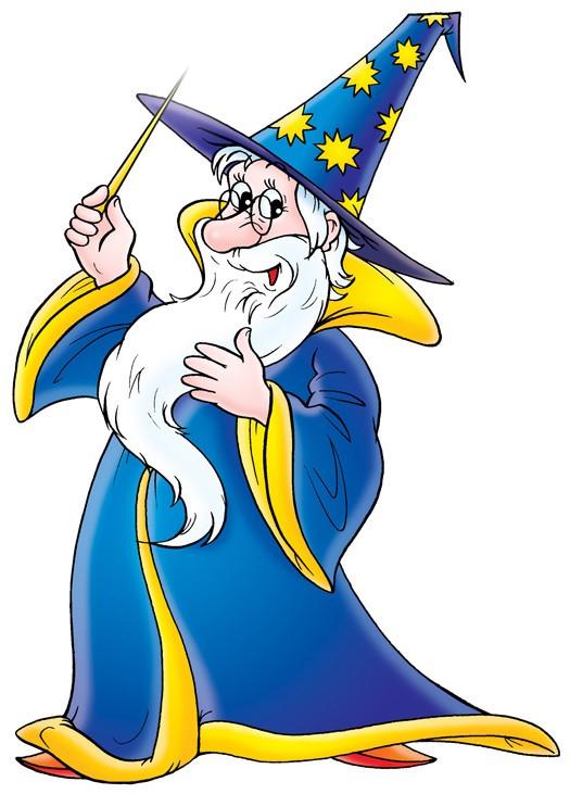 картинки волшебников распечатать