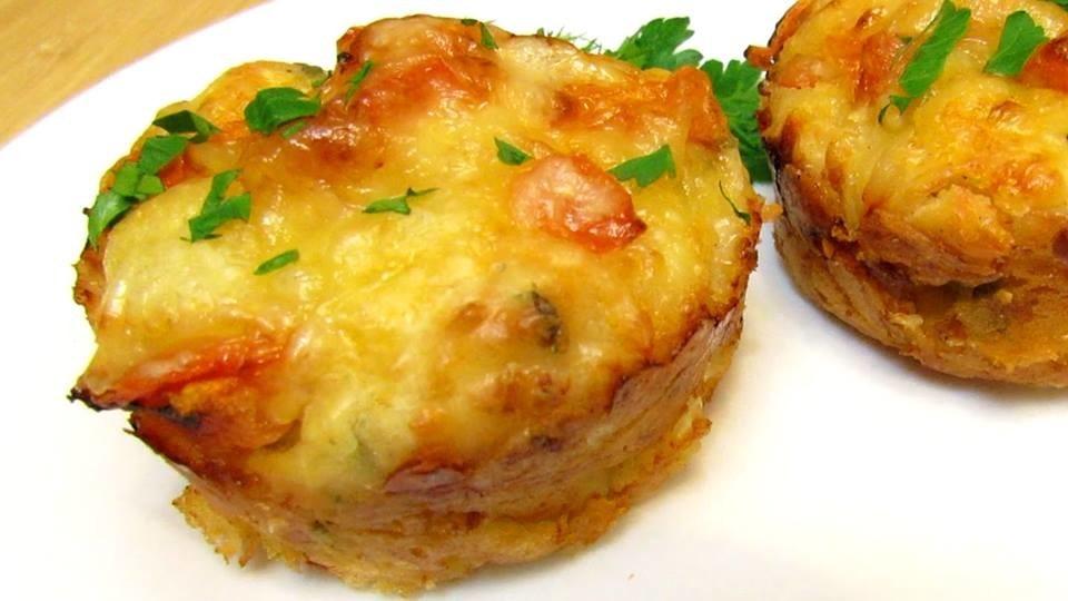 Маффины рецепт маффины с курицей и сыром