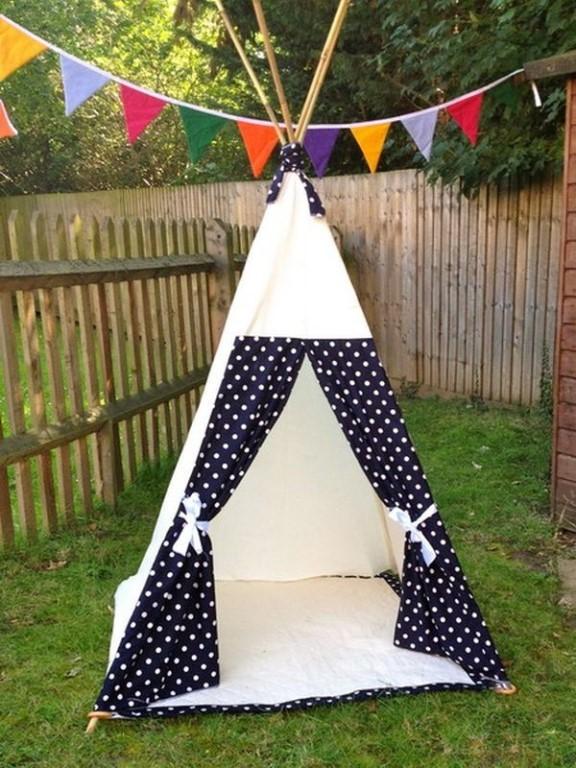 Как сшить палатку для детей