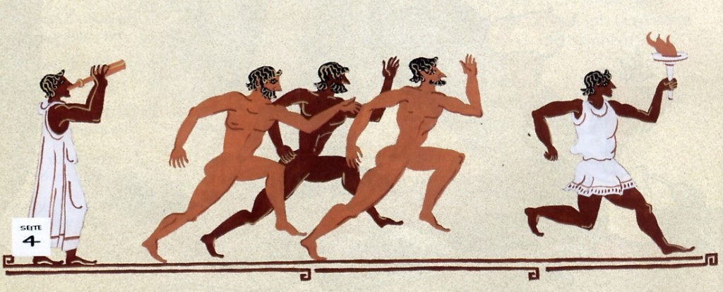 a comparison of the ancient olympics in greece and the modern olympic games In ancient times woman were not able to watch the games or they would get thrown off a cliff and now everyone can watch them.