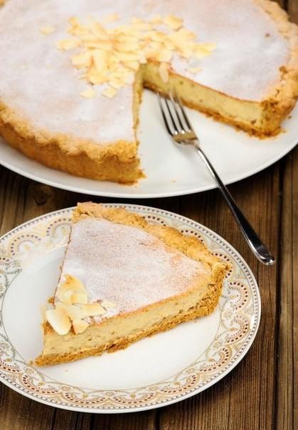 Фото рецепт пирога с творогом