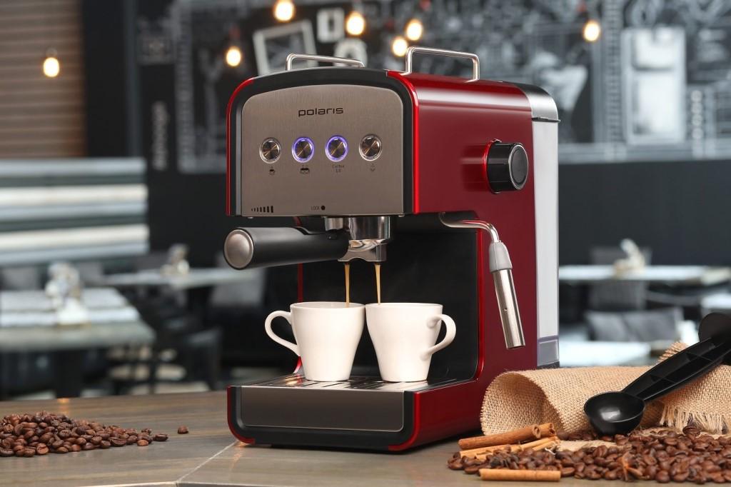 Ремонт кофемашин Polaris в Санкт–Петербруге