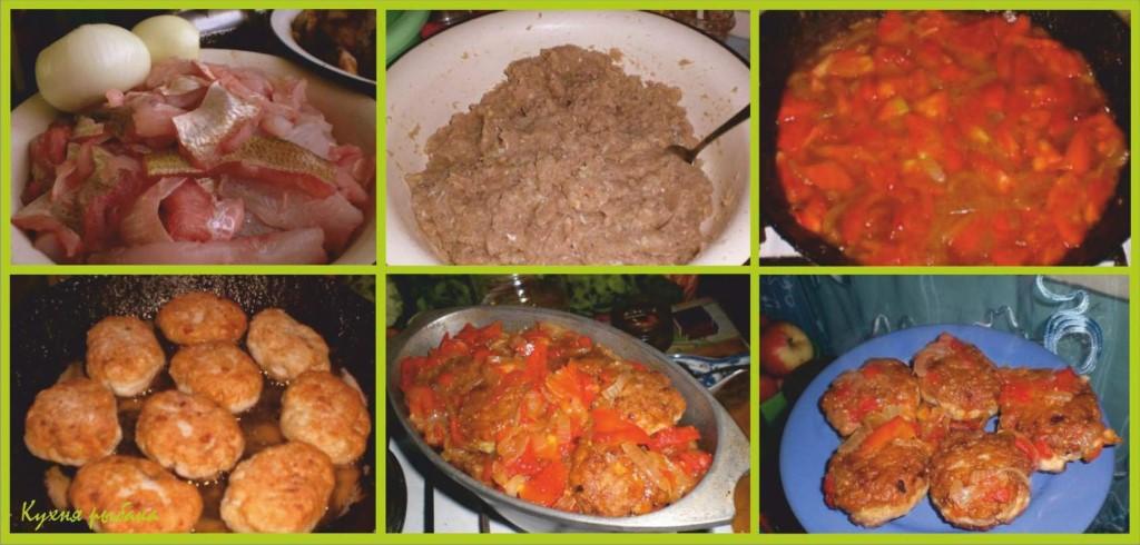 Котлеты из леща в томатном соусе
