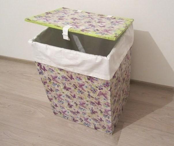 Ящик для хранения из картона