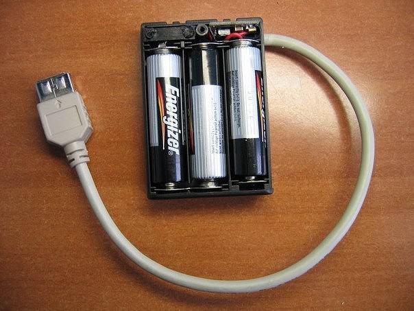 Зарядное устройство на основе блока питания ATX
