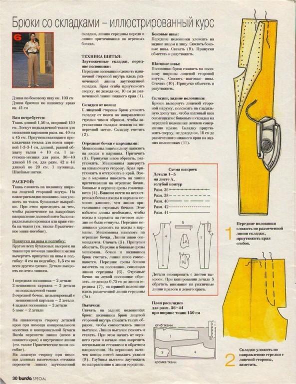 шьем детские брюки пошаговая инструкция