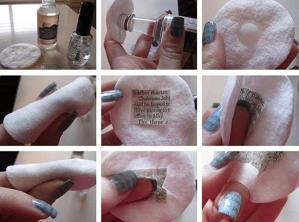 Сделать ногти своими руками