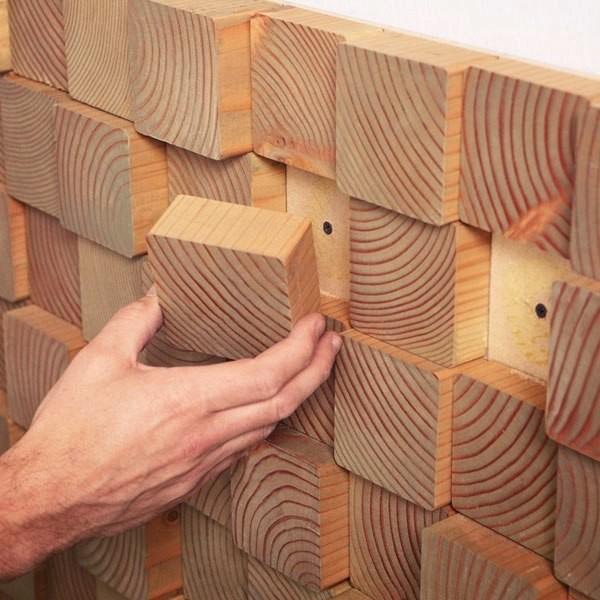 Как сделать рейки на стене