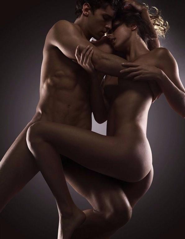 женщинами голе мужчины с