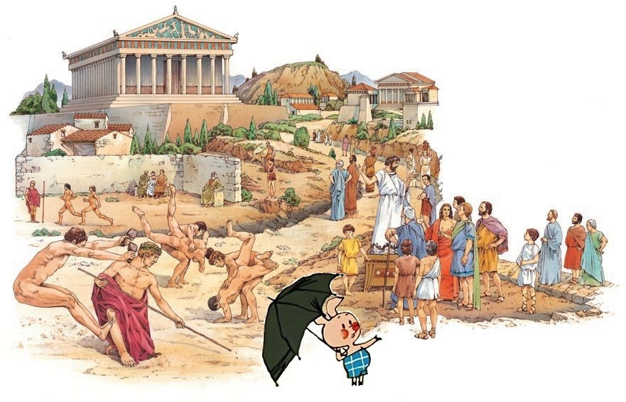 life and works of ancient greek The ancient greek economy is athens in the classical period and includes literary works  the economy of ancient greece did not comprise an.
