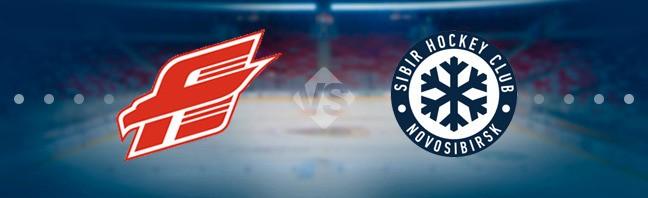 Авангард — Сибирь 24 декабря, хоккейный матч