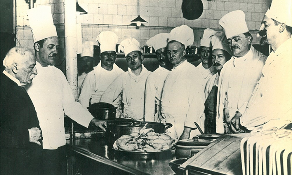 history of auguste escoffier and marie Click to read about our mission, culinary philosophy, the history of auguste escoffier and how he inspires us today.