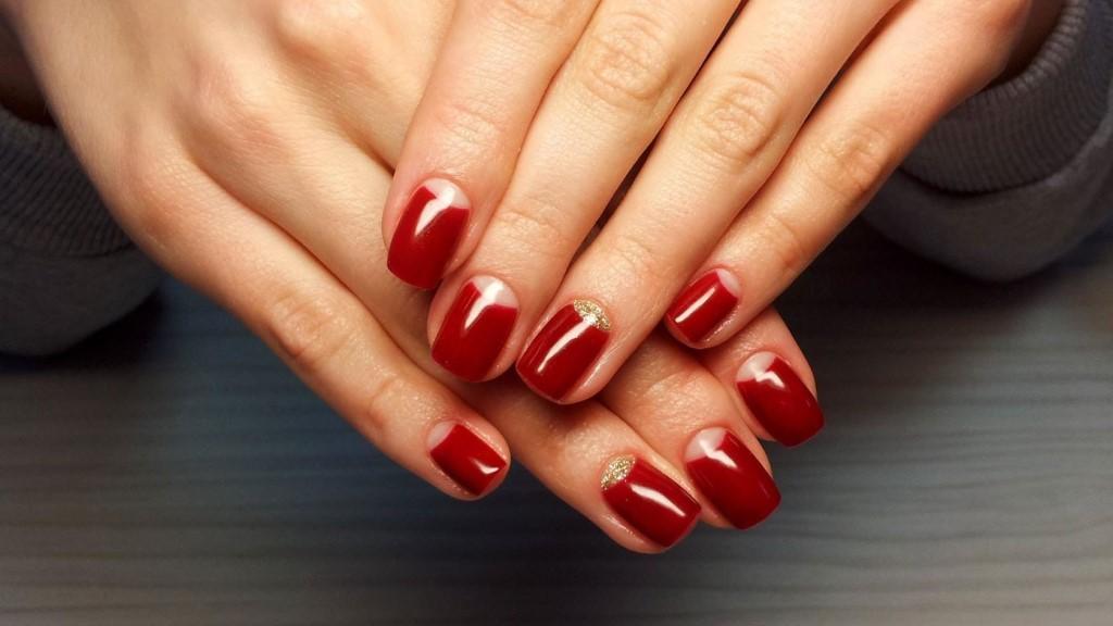 Простой Дизайн На Короткие Ногти Фото