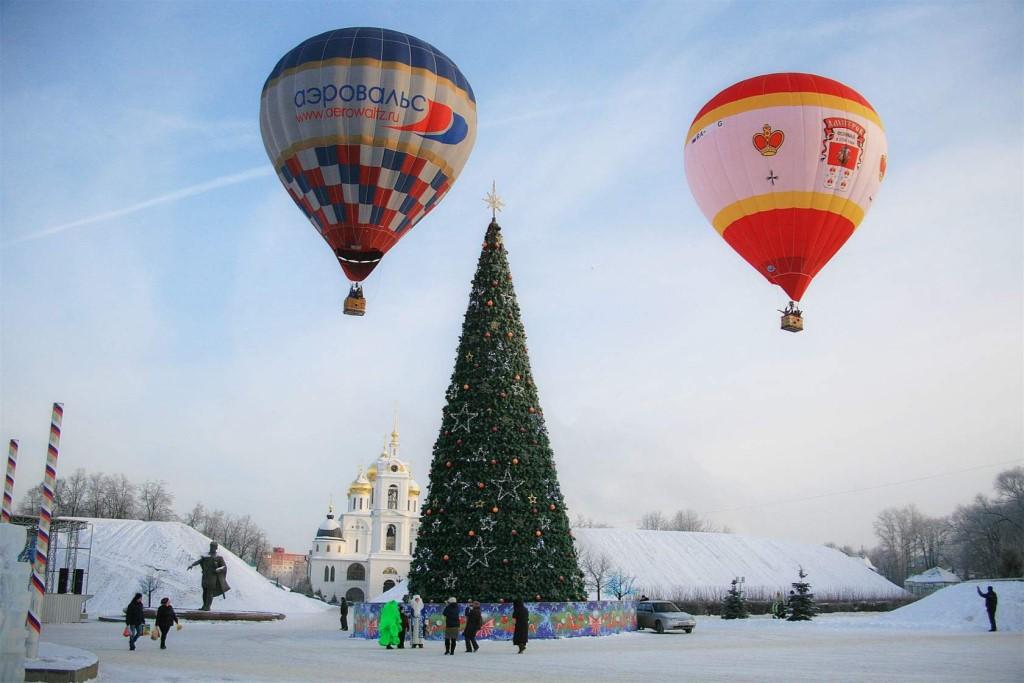 Фестиваль аэростатов «Яблоки на снегу» стартует в Дмитрове 5 января