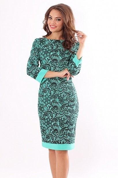 Продам новое платье (с этикеткой) из плотного трикотажа, цвет насыщенный и очень красивый, размер 48.