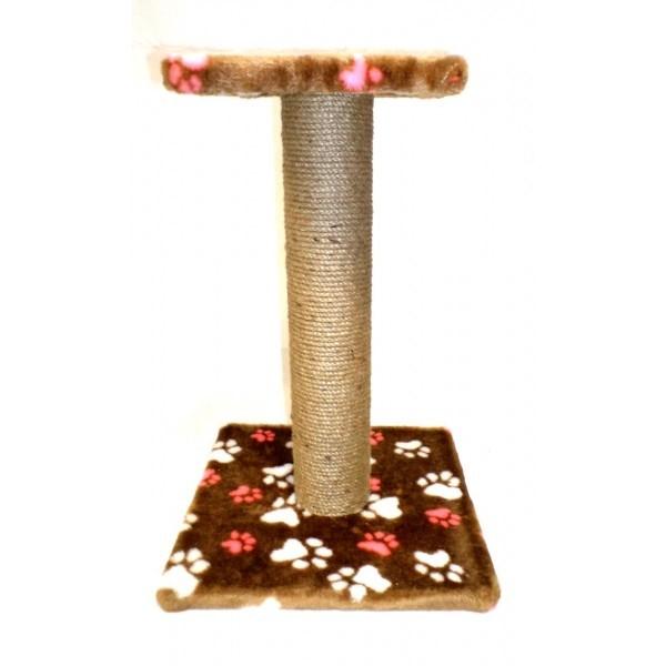 Принимаю заказы на Когтеточка столбик с полочкой джутовая высотой 94cм 45*45 см.
