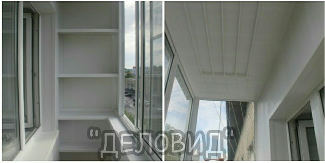 Балкон под ключ алюминиевый: