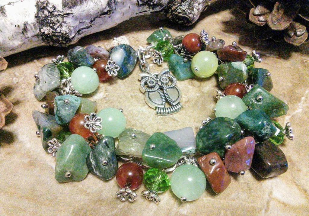 Продам украшения из натуральных камней !