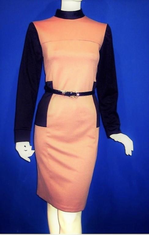 Продам  НОВОЕ  платье из теплого плотного качественного трикотажа.